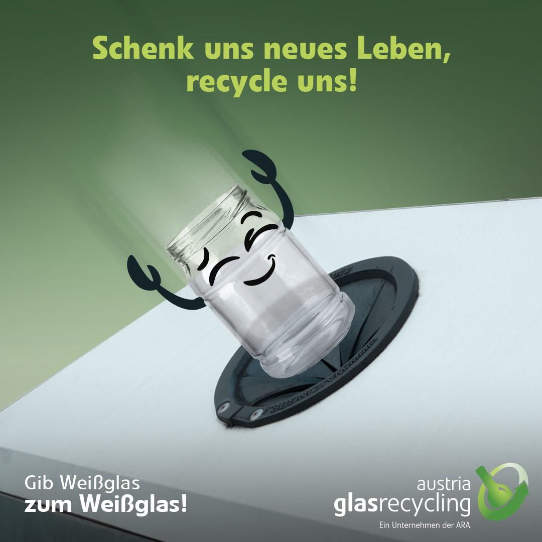 Glasrecycling - Kernelement nachhaltiger Wirtschaftsweise