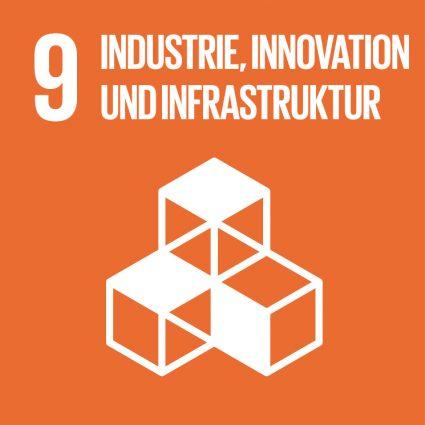 hochwertige Infrastruktur für Glasrecycling - SDG 9 Industrie, Innovation, Infrastruktur