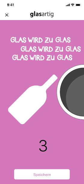 glasartig! Glas wird  zu Glas wird zu Glas
